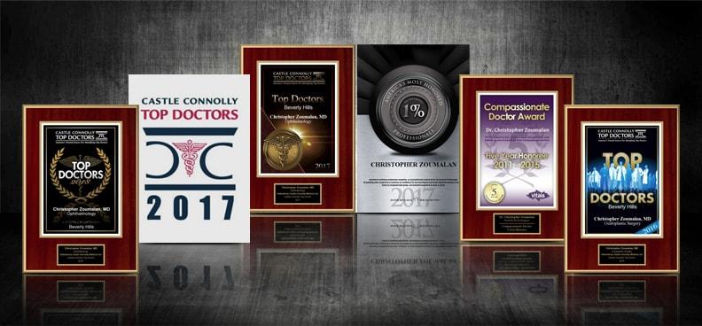 Dr. Christopher Zoumalan Awards