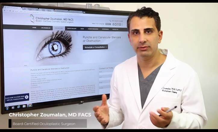 Punctal and Canalicular Stenosis or Obstruction Video