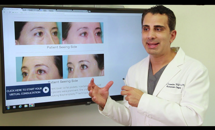 Eyelid and Facial Chemical Peels procedures - Click to see video