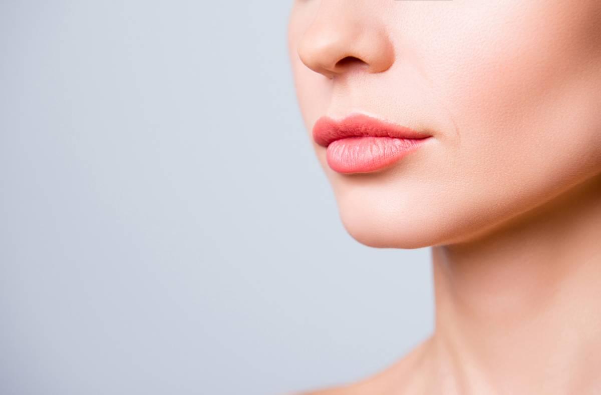 Woman looking great after combining facial procedures.